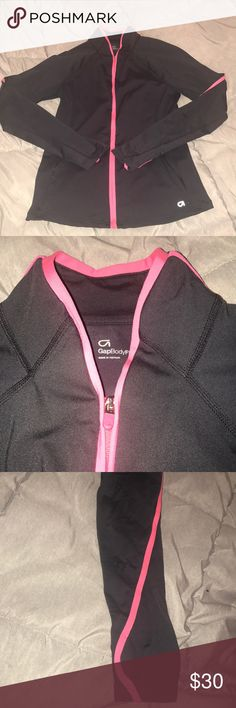 GapBodyFit workout jacket Super stretchy and comfortable  Perfect condition, worn once  Hoodless, zipper front, zipper pockets GAP Other