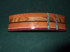 Wood Wooden Barrette Hairclip lacewood/ Zebra by Thingsinwood18, $47.00