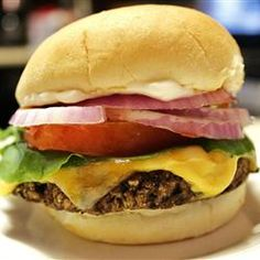 Homemade Black Bean Veggie Burgers Allrecipes.com