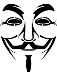 Guy Fawkes mask stencil - Boing Boing