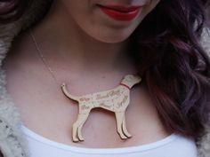 Runaway Fox - Dog Cuts Necklace, £20.00 (http://www.runawayfox.co.uk/dog-cuts-necklace/) Scottish Fashion Design