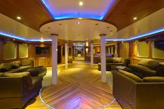 The Maldives Princess is surely one of the most luxurious vessels, let alone liveaboards, on the water.