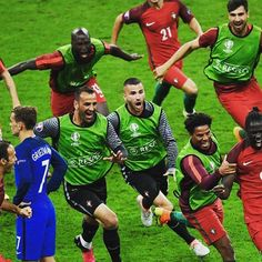 Portugal have won @UEFAEuro 2016! ⚽️ #Eurosport #Football #Soccer #Futbol #Euro #Euros #UEFAEuro #UEFA #France #Portugal #Portuguese #Europe #French #LesBleus #EuropeanChampionship #EuropeanChampionships #Paris #Fans #SaintDenis #Griezmann #Pogba #Giroud #Payet #Ronaldo #CR7 #StadeDeFrance #Final #Winners #Champions #Eder