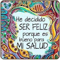 feliz --> Salud