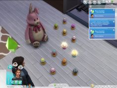 Easier Easter Egg Collecting by Shimrod101 at Mod The Sims via Sims 4 Updates