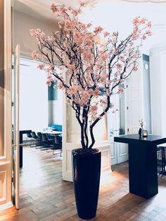 Floor Vase Decor, Home Decor Vases, House Plants Decor, Home Decor Furniture, Salon Interior Design, Boutique Interior, Salon Design, Tree Branch Decor, Vase Arrangements