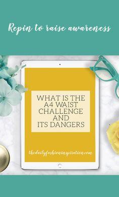 a4 waist challenge dangers