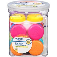Equate Contact Lens Cases, 12 count - Walmart.com