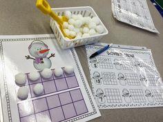 Free, fun and useful Kindergarten - Grade, Common Core aligned lesson plans, math games, calenda Kindergarten Lesson Plans, Preschool Math, Math Classroom, Kindergarten Activities, Fun Math, Teaching Math, Winter Activities, Math Games, Maths
