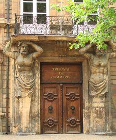 Renaissance doorframe Aix-en-Provence