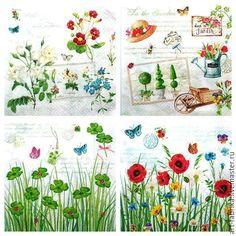 Купить Натюрморты 2 - разноцветный, салфетки для декупажа, салфетки декупажные, салфетки бумажные, салфетки купить