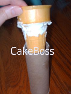 Making turrets with paper towel tubes and  ice cream cones.
