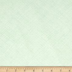 Kaufman Architextures Diagonal Grid Mint from @fabricdotcom  Designed by Carolyn Frielander for Robert Kaufman, this cotton fabric is perfect for quilting, apparel and home décor accents. Colors include green and white.