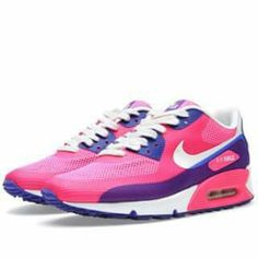 newest 74b65 db9b1 Buy the Nike Air Max 90 HYP PRM in Pink Flash, Sail   Hyper Blue from  leading mens fashion retailer END.