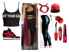 """""""Untitled #573"""" by shayshay2601 ❤ liked on Polyvore featuring H&M, NIKE, Boohoo, Tony Moly and Rimmel"""