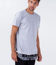 Camiseta masculina Modelo alongada Manga curta Barra com estampa Marca: Blue Steel Composição: 88% algodão e 12% poliéster Modelo veste tamanho: M COLEÇAÕ VERÃO 2016 Veja outras opções de camisetas masculinas.