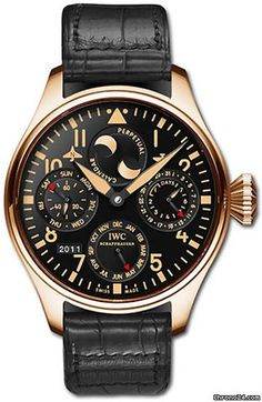 Discover a large selection of IWC Big Pilot watches on - the worldwide marketplace for luxury watches. Compare all IWC Big Pilot watches ✓ Buy safely & securely ✓ Stylish Watches, Luxury Watches For Men, Cool Watches, Modern Watches, Vintage Watches, Iwc Chronograph, International Watch Company, Casio Protrek, Iwc Pilot