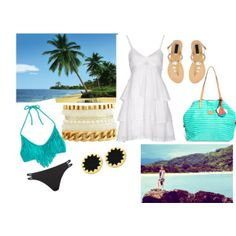 """""""Beach Day"""" by asleep-673 on Polyvore"""