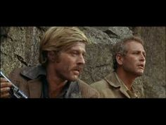 """Butch Cassidy & The Sundance Kid / The Cliff Jump [""""I Can't Swim!!""""] (1969) -- Redford gives the funniest line of the whole movie. When he screams """"I can't swim"""" and gives Butch that up/down look I swear Newman isn't acting. He is really cracking up. Hilarious!"""