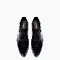 ZARA - MAN - LACE-UP SHOES WITH DETAILS ON THE SOLE