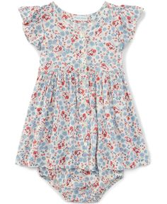 Ralph Lauren Baby Girls' Floral-Print Dress
