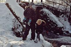 Loff Loff - WINTER harem pants www.loff-loff.com photo by J.J. & The Bear