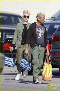 Gwen Stefani luciendo una M-65, más que genial.