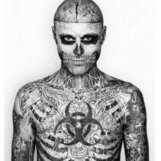 Zombie Man // pinned by Marisa and Sam