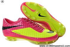 Latest Listing Fluorescent Green Pink Nike HyperVenom Phantom FG TPU Boots  Soccer Shoes On Sale Mens 5d523f7160
