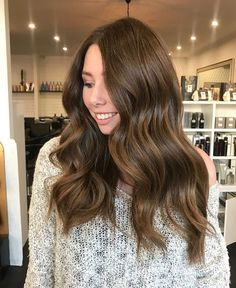 SWIPE ACROSS  Repost from the lovely @meganmcaulay_bixiecolour including formula and technique below! ❤️⚡️ Natural Glam! My gorgeous first time guest wanted to achieve a Colour that looks natural and soft. I did free hand balayage using redken free hand and 40vol and let it process with open air. And I glossed with 8wg + 7nb in shades eq ✌ @bixiecolour #bixiecolour #redken #redkenshadeseq #redkenobsessed #behindthechair #balayagedandpainted#brunette#brunettehairinspo