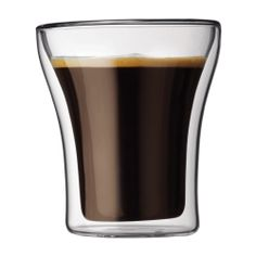double walled drinking glasses that can double as coffee/tea cups...i've been oogling them for a few years now