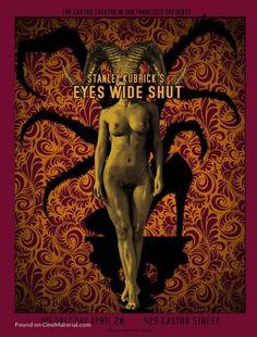 """Eyes Wide Shut"" Alternative Movie Poster by David O'Daniel (Stanley Kubrick / Eyes Wide Shut, Stanley Kubrick, Cinema Posters, Film Posters, Music Posters, Norman Rockwell, Monet, Posters Amazon, Tv Movie"
