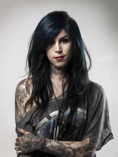 Such a BEAUTIFUL woman with AMAZING tattoos <3