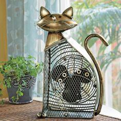 Super Cute Cat Fan
