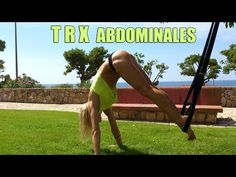 TRX ABDOMINALES / TRX ABS - YouTube