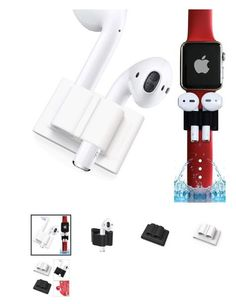 AirPods Earphone Anti-Lost for Silicone Holder Clip for Apple Watch Band Strap