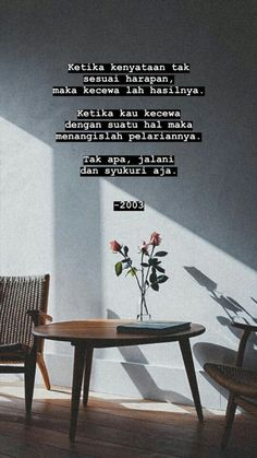 Discover recipes, home ideas, style inspiration and other ideas to try. Quotes Rindu, Story Quotes, Spirit Quotes, Text Quotes, Tumblr Quotes, Mood Quotes, People Quotes, Daily Quotes, Quran Quotes