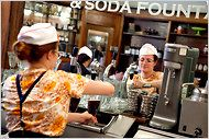 Brooklyn Farmacy and Soda Fountain -- want one of these in Chicago asap