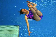How Olympic Divers look - this is how I would look diving at all...