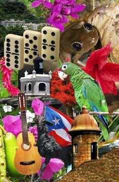 Mosaico de Cosas Tipicas De Mi Puerto Rico <3