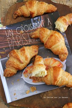 Oo la la french croissants are the best ! Eat with butter yum !