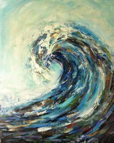 """Sarah B. Lytle Original Oils - """"The Build Up"""" 16""""x20"""" oil on canvas"""