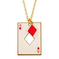 COLLIER CARTE CARREAU.  Rami, Blackjack, Poker, Belotte... saurez-vous placer vos cartes et remportez la partie ?   Avec cette collection signée N2, devenez un expert en bluff et en stratégie pour battre votre adversaire. Mettez tous les atouts de votre côté et n'oubliez pas de sortir votre Joker !