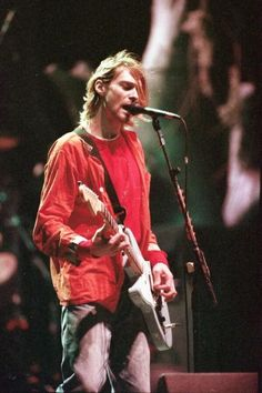 Because he's still alive - through his music. Kurt Cobain forever. Nirvana forever.