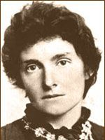 Edith Nesbit, ca 1890. Classic children's book writer who inspired J.K. Rowling and C.S. Lewis.
