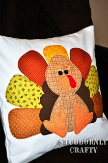 You searched for Turkey appliqué pillow - Stubbornly Crafty