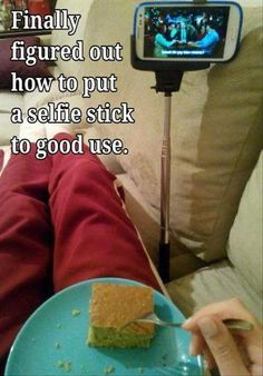 Finally figured out how to put a selfie stick to good use. <<Yes!! Ftw!