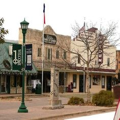 Main Street, Marble Falls Lived here when first married.  Watched many movies at this theatre.
