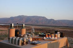 Breakfast C Tailormade Safaris African Safari, Africa Travel, South Africa, Landscape, Breakfast, Places, Beautiful, Morning Coffee, Scenery
