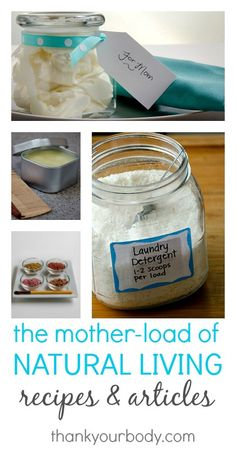 Definitely save this for later! The mother-load of DIY natural recipes and tutorials.